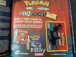 Insanely RARE Pokémon Cards Black Star Promo EON TICKET TCG Lot Nintendo Power