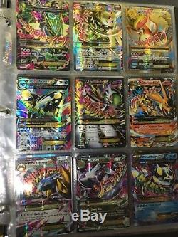 Lot of 90 Pokemon cards EX, Level X, Full arts, Breaks, Secret Rares, etc