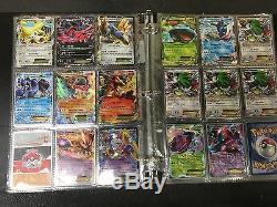 Lot of 91 Pokemon cards- EX, Level X, Full Arts, Breaks, Secret Rares, eyc