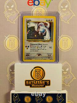 Lugia 9/111 MP Moderatley Played Neo Genesis Rare Holo Pokemon Card