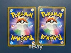 MARIO LUIGI PIKACHU Set Japanese Pokemon Card 293/XY-P Promo Holo rare PCG