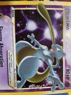 MEWTWO GOLD STAR EX HOLON PHANTOMS 103/110 ULTRA RARE HOLO (eng) pokemon card
