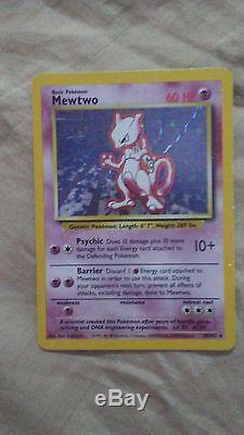 Mewtwo 1995 card