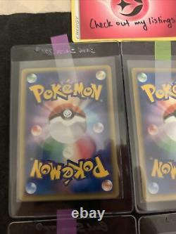 Mewtwo Pikachu Gold Star Mew Set Japanese Pokemon card 1 2 3 6 Promo Mint PSA