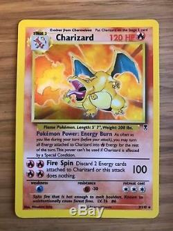 NEAR MINT! Charizard (3/110) Legendary Collection Holo Pokemon Card! Rare