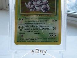 Nidoking Base Set Unlimited Holo 11/102 Psa 10 Rare Gem Mint Hologram Card
