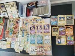 OLD VINTAGE CARDS ONLY! Pokémon Authentic Lot From Huge Collection WOTC