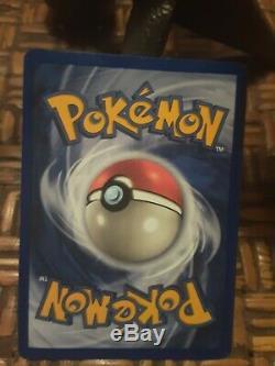 ORIGINAL Pokemon CHARIZARD Base Set 4/102 Rare Holo Holographic Card pokeman