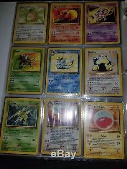 Original Pokemon card lot 52 rares, 36 holos. Base, jungle, rocket, gym heroes