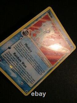 PL Pokemon (Gold Star) MEW Card EX DRAGON FRONTIERS Set/101 Ultra Rare Holo AP