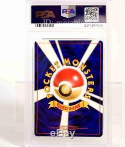 POKEMON CARD 1998 2001 NATTA WAKE Birthday Pikachu 2cards #25 PSA 9