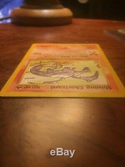 POKEMON SHINING Charizard 107/105 HOLO RARE NEO DESTINY CARD- Lightly Played