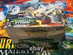 POKEMON TCG SUN & MOON SM7 CELESTIAL STORM BOOSTER BOX New Sealed Cards in Hand