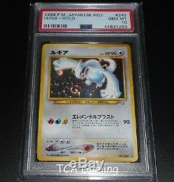 PSA 10 GEM MINT Lugia JAPANESE Neo Genesis HOLO RARE Pokemon Card