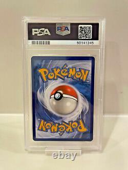 PSA 10 GEM MINT Pokemon Card Unbroken Bonds Blastoise GX Rainbow Secret Rare 218