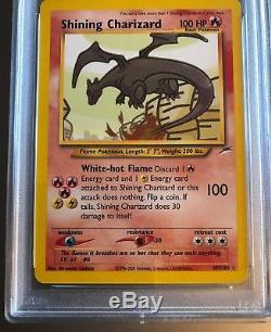 PSA 10 Shining Charizard 2002 Neo Destiny Pokemon Card Gem Mint Rare Holo