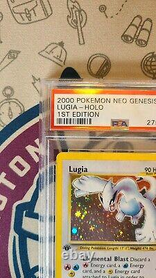 PSA 9 MINT 1st Edition Lugia 9/111 HOLO Rare Neo Genesis Pokemon Card WOTC 2000