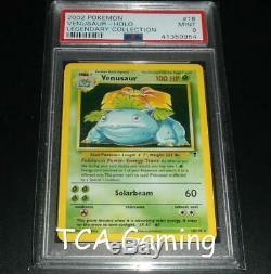 PSA 9 MINT Venusaur 18/110 Legendary Collection HOLO RARE Pokemon Card