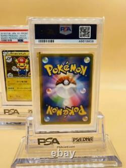 PSA10 Pokemon Card Mario Pikachu 294 / XY-P