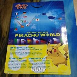 Pikachu World Collection Pokemon Card Regular Edition 9 Card set 2010 TCG