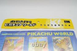 Pikachu World Collection Regular Edition 9 Card set Pokemon Card TCG