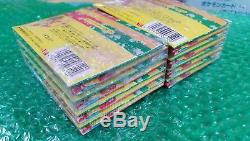 Pokemon 16 Sealed Topsun Booster Packs with ORIGINAL BOX! Green Back Cards! 1995