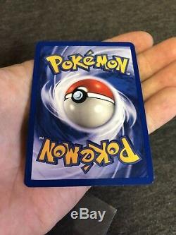 Pokemon 1st Edition Shining Magikarp Holo Card Neo Revelation 66/64 EX