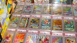 Pokemon 25 Card Lot GUARANTEED Textured PSA 10 EX GX V Vmax Ultra Secret Rare