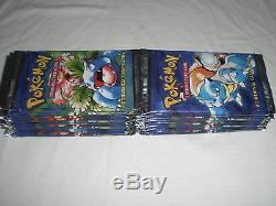 Pokemon Basic Card Lot (21) Unopened Booster Packs & (165) Loose Cards Rares