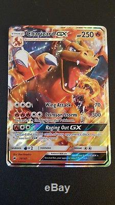 Pokemon Burning Shadows Charizard GX 20/147 Ultra Rare Holo Mint Card