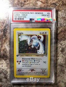 Pokemon Card 1st Edition Neo Genesis Lugia Holo Psa 10