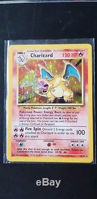 Pokemon Card Charizard Original Base Set