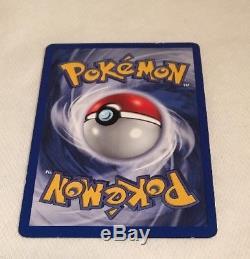 Pokemon Card Gyarados 6/102 Base Set 1st Edition Shadowless Holo Rare NM