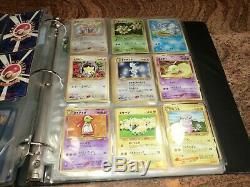 Pokemon Card HUGE LOT Base Set Jungle Fossil Set Rare Holo 1999 VTG NICE 100's