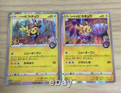 Pokemon Card Japanese Kanazawa Pikachu 144/S-P & Shibuya Pikachu PROMO HOLO