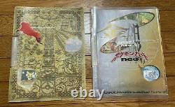 Pokemon Card Japanese Neo Genesis Series Premium File Part 1, 2 set Near Mint