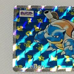 Pokemon-Card-Japanese-Promo-1995-Topsun-Blastoise-Holo-No009 Pokemon-Card-Jap