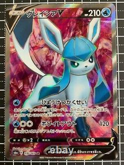 Pokemon Card Leafeon, Jolteon etc V SR 8 types set Eevee Heroes Japanese NM