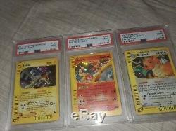 Pokemon Card Lot Charizard & Hyper Rare Rainbow psa pokemon cards graded holos