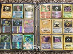 Pokemon Card Lot. Entire collection almost 1000 cards! Rare, holo, bonus items