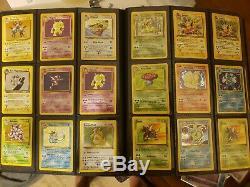Pokemon Card Lot Holo Rare Lot 1st edition Wotc lot 5/6