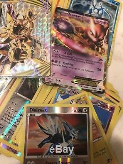 Pokemon Card Lot Of Over 300 Cards, Including 120+ Holo, Rare, Ultra Rare Ex