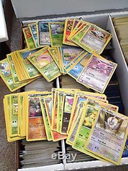 Pokemon Card Lot Over 7000 Random Cards with 500 Rares Guaranteed! Holos Ex Gx