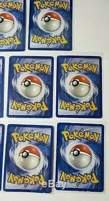 Pokemon Card Lot Vintage Pokemon EX Cards Early 2000s Ultra Rare Card Set Played