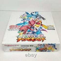 Pokemon Card Sun Moon Expansion Pack Champion Road Booster Box Japanese
