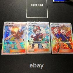 Pokemon Card Trainer Red & Green & Blue SR SET 193/173 196/173 201/173 SM12a