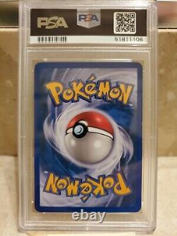 Pokemon Card WOTC 2003 Aquapolis E-Series Crystal Lugia Holo 149/147 PSA 8 NM-MT