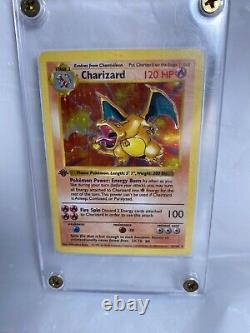 Pokemon Cards 1st Edition Charizard Shadowless Rare