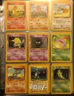 Pokemon Cards Complete Base Set Charizard Vintage 100/102 Holographic Rares