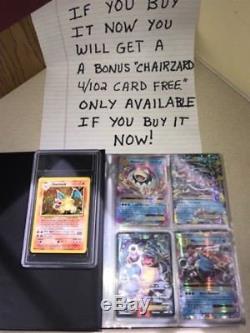 Pokémon Cards EX GX MEGA Collection Rare Holo secret rare, ultra rare Nm100%REAL